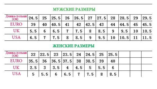 Таблица размеров одежды китай детской одежды таблица